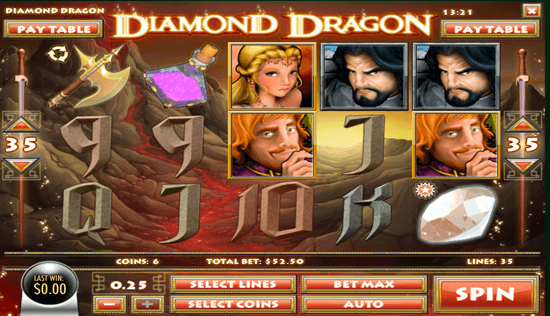 Diamond Dragon Slot