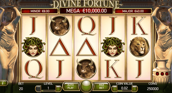 100 Free Spins for Divine Fortune