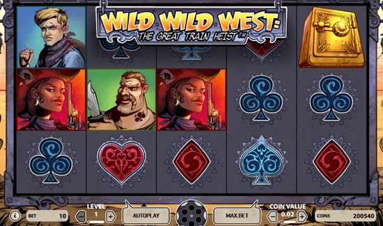 175 Free Spins for Wild Wild West