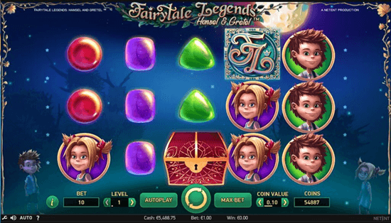 25 Free Spins for Fairytale Legends: Hansel and Gretel