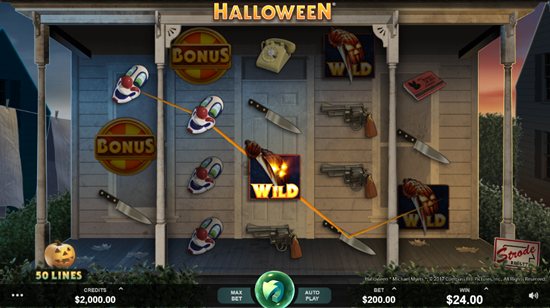 Microgaming's Halloween Slot