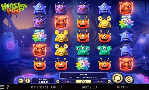 Monster Pop Slot.