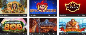 Relax Gaming slots at Oshi Casino