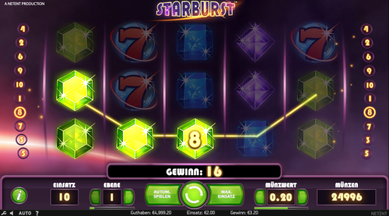 Starbust Casino Slot