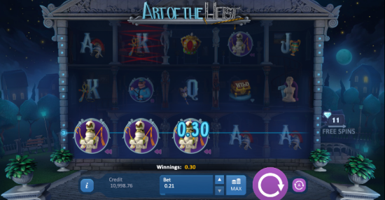 Art of the heist Slot