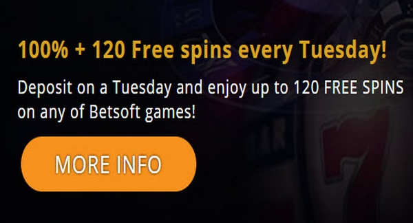 Casino765 120 Free Spins For Betsoft Slots