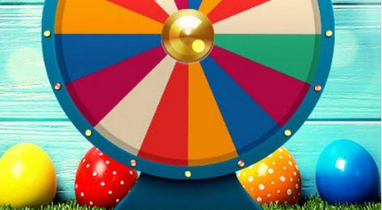 Easter Fortune Wheel.