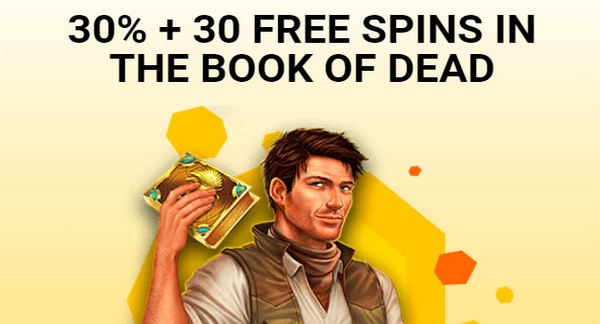 Spinamba 30 Free Spins In The Book Of Dead