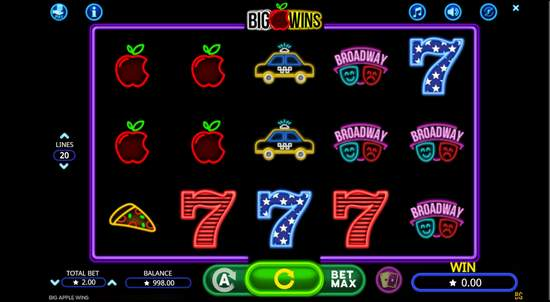 Betnspin 50 No Deposit Free Spins On Big Apple Wins